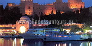Rhodes by Night : Suntours Official site : Rhodes Hotel, Rhodes Apartments, Rhodes Studios, Rhodes Villas